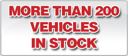 Many vehicles in stock